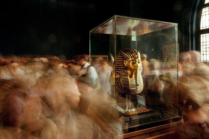 La m?scara era emblema en el antiguo Egipto