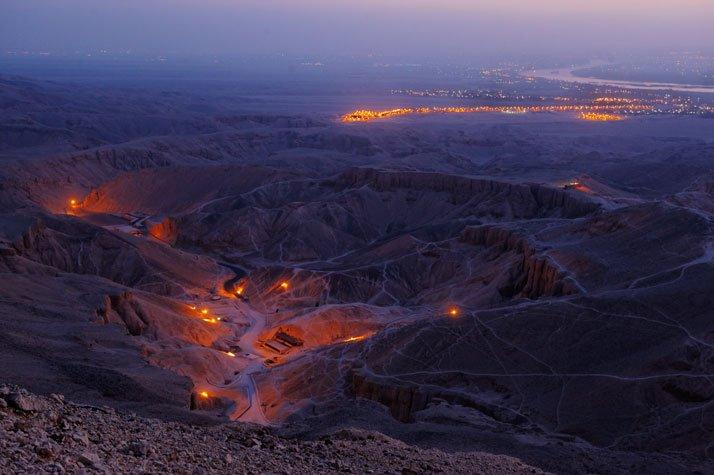 El Valle de los Reyes alberga las tumbas de Tutankam?n y su familia real