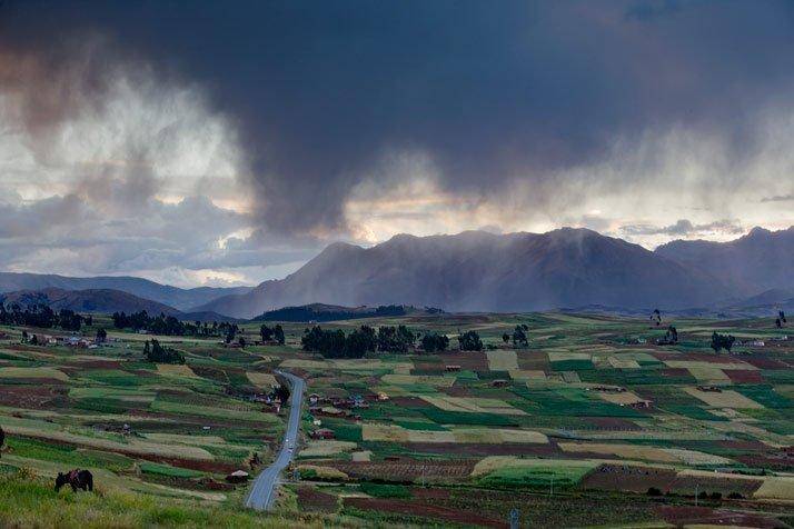 Tierras de Chinchero del Imperio Inca