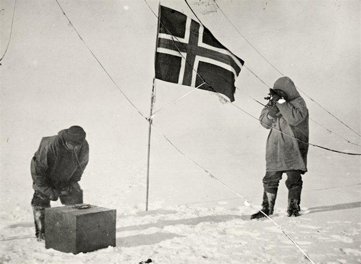 amundsen08. Victoria y derrota