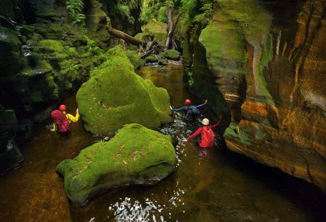 cañonesaustralia11. Claustral Canyon