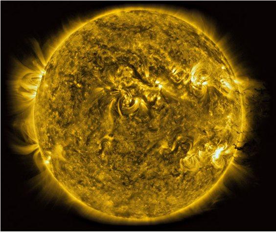 Imágenes de tormentas solares