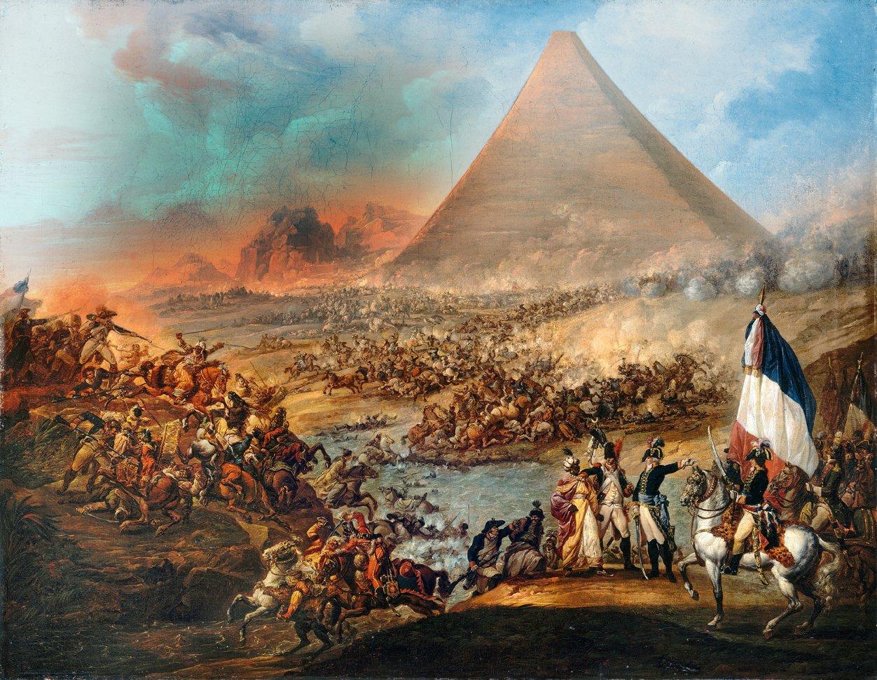 Bildergebnis für invasion de napoleon a egipto