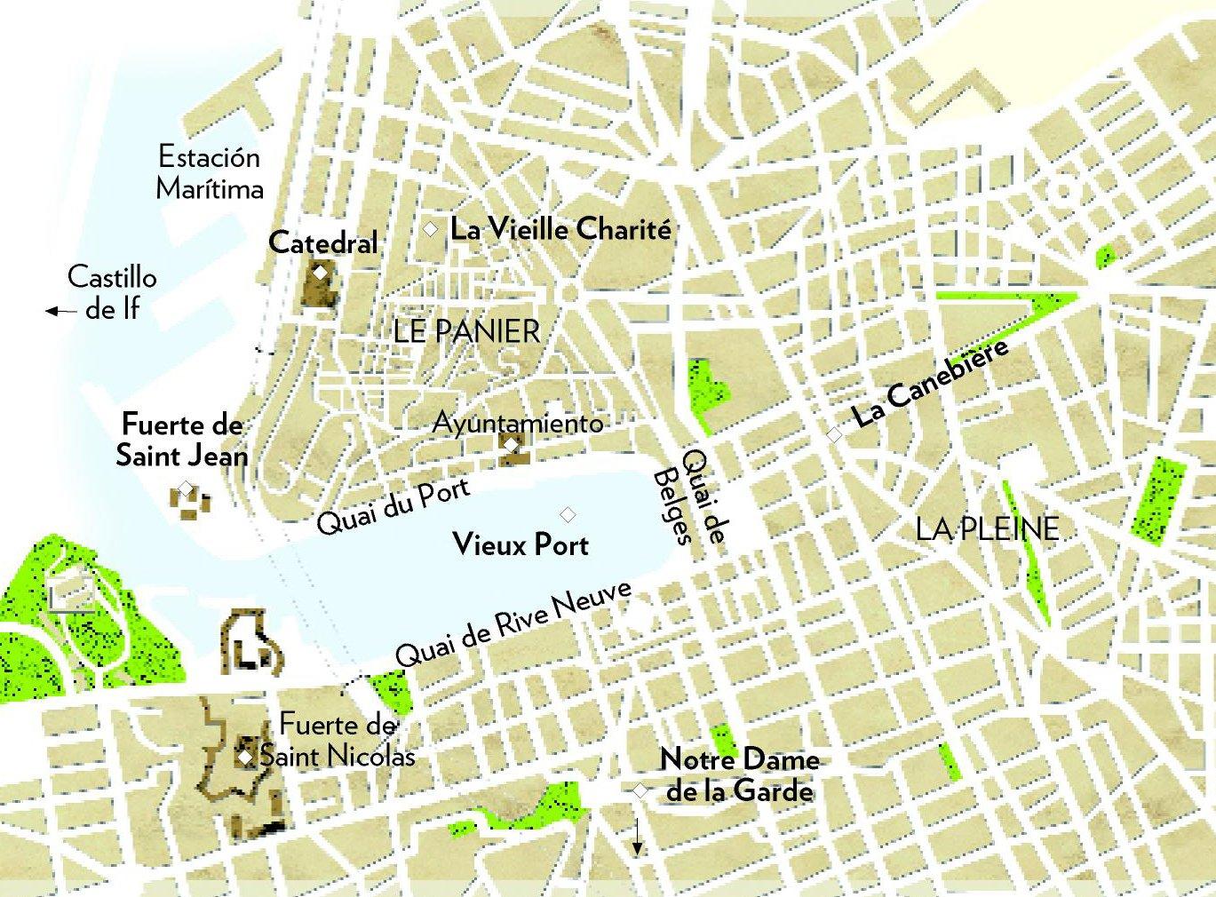 sitios turisticos de marsella francia
