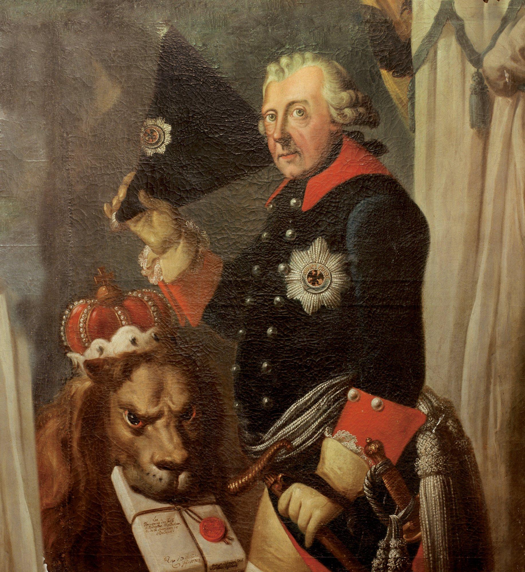 Resultado de imagen de elevación de Federico II al trono alemán