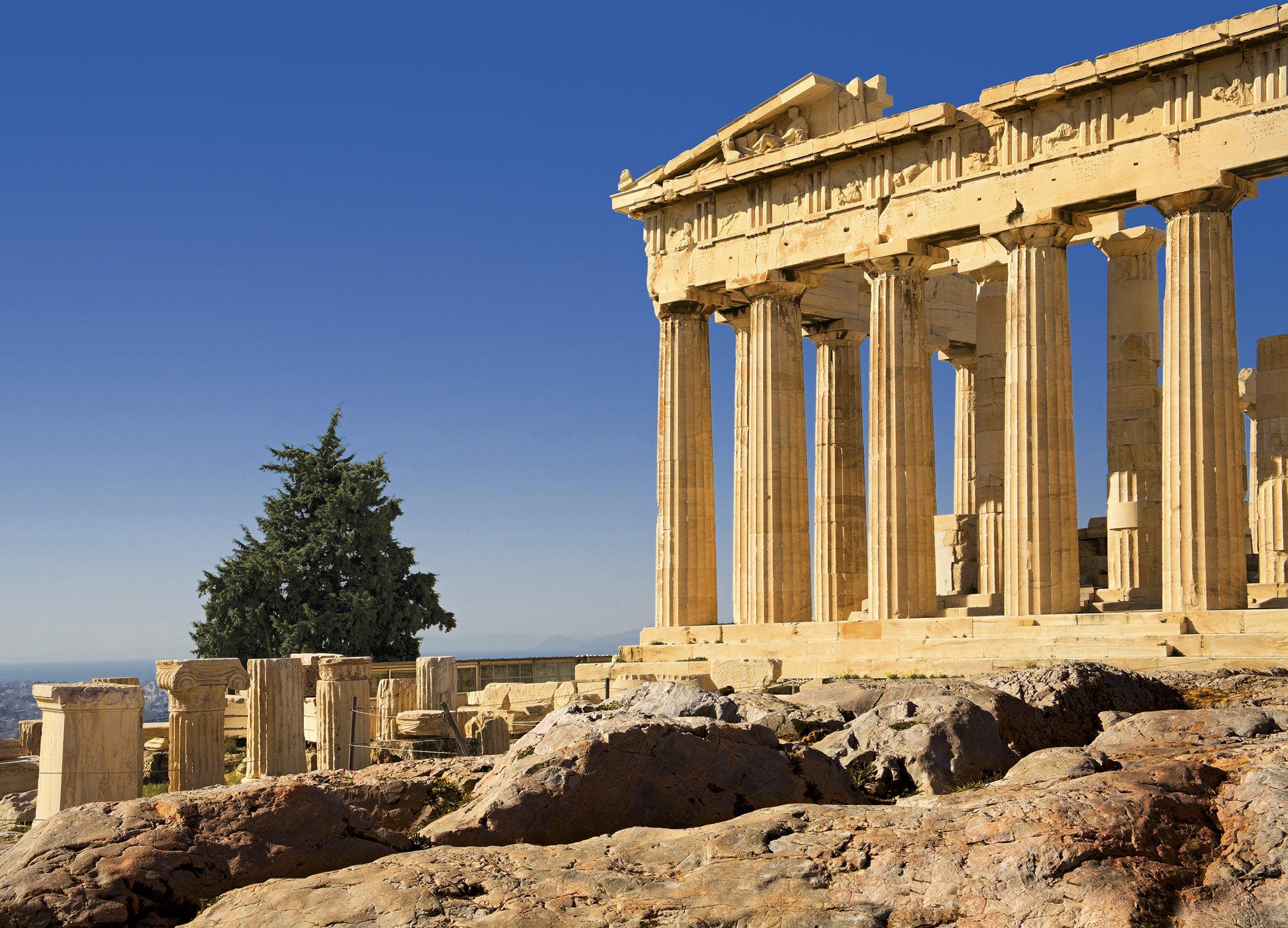 El símbolo del poder ateniense