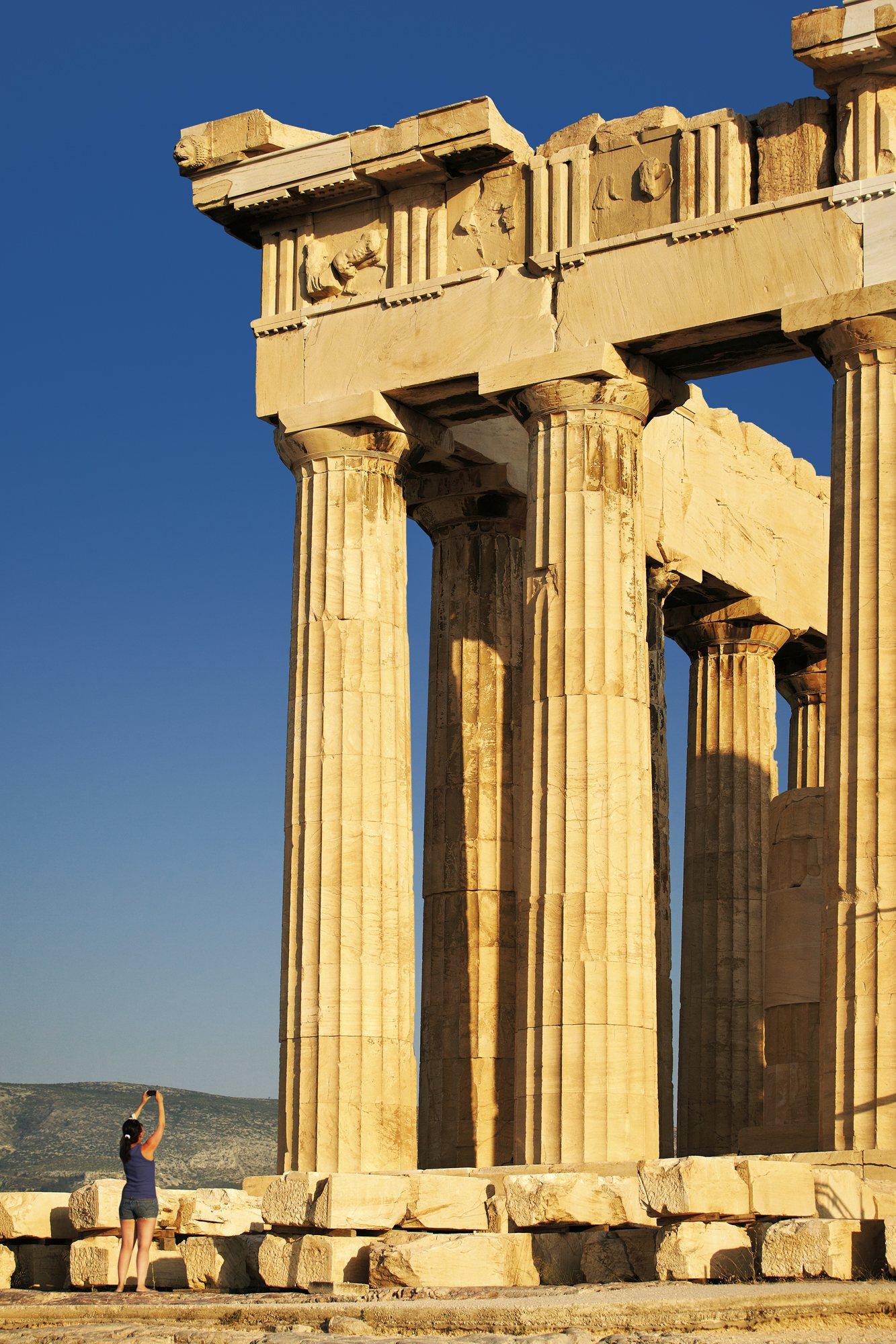 Las inmensas columnas