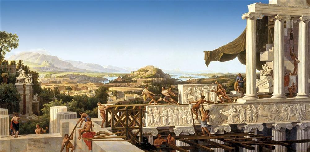 Los obreros del Partenón