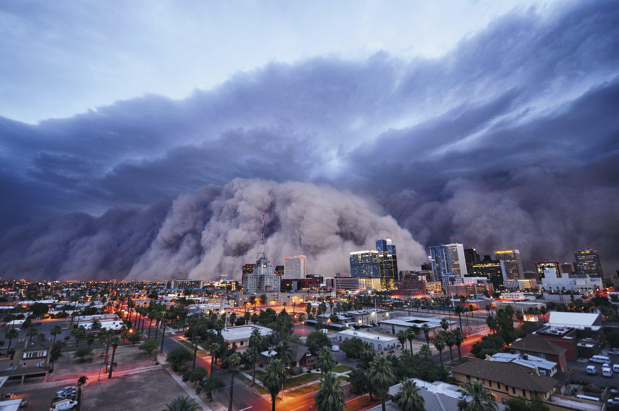 Metereología extrema. Phoenix, Arizona, Estados Unidos