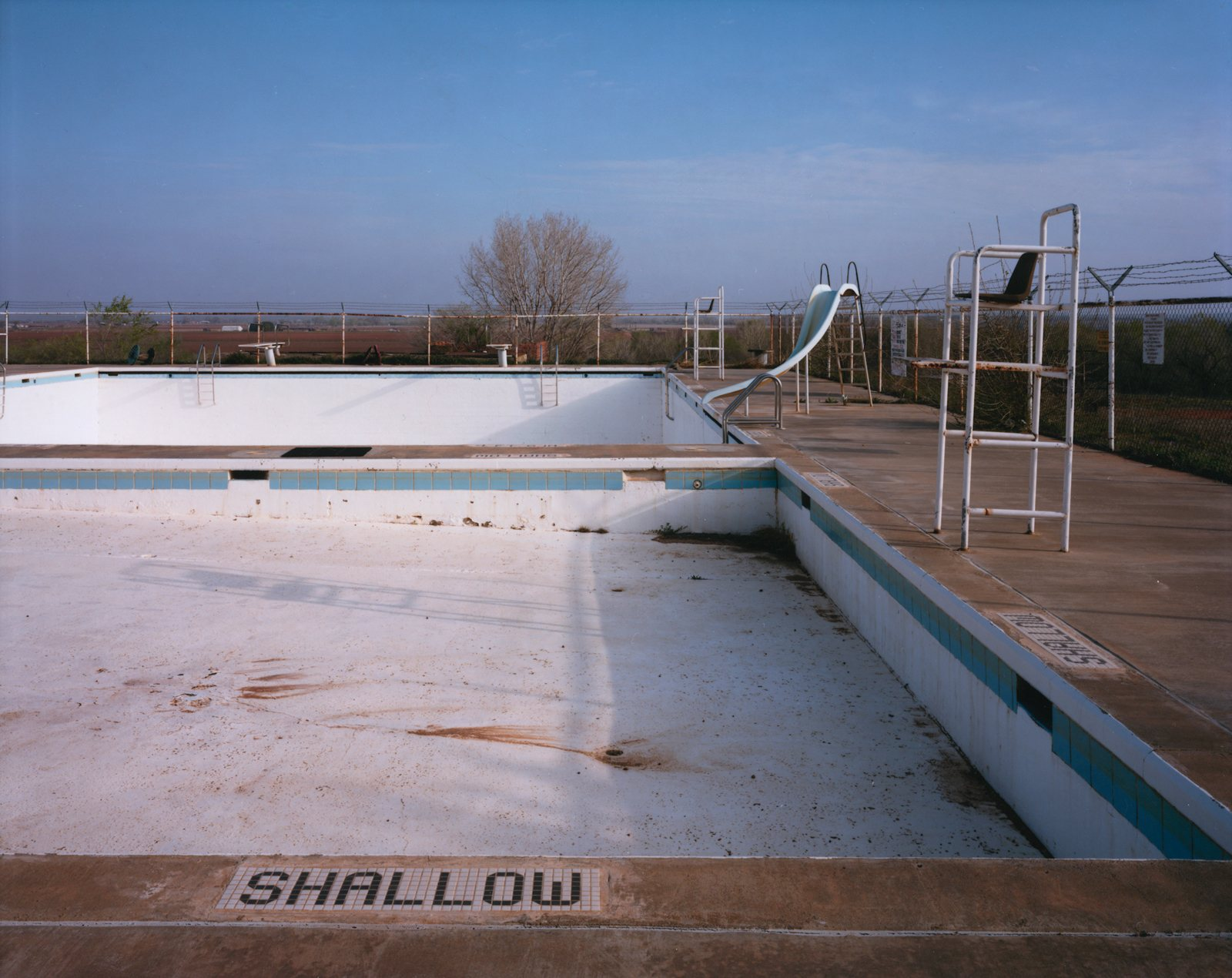 10-empty-texas-swimming-pool. Spur, Texas, Estados Unidos