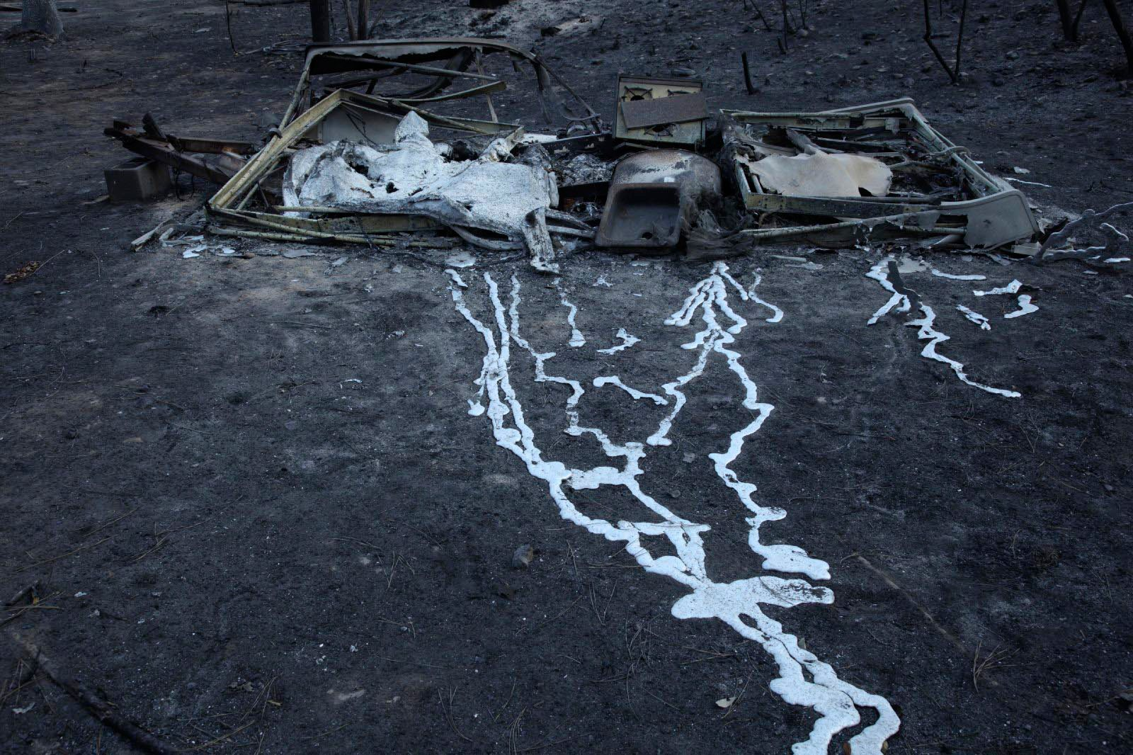 12-texas-wildfire-damage. Bastrop, Texas Estados Unidos
