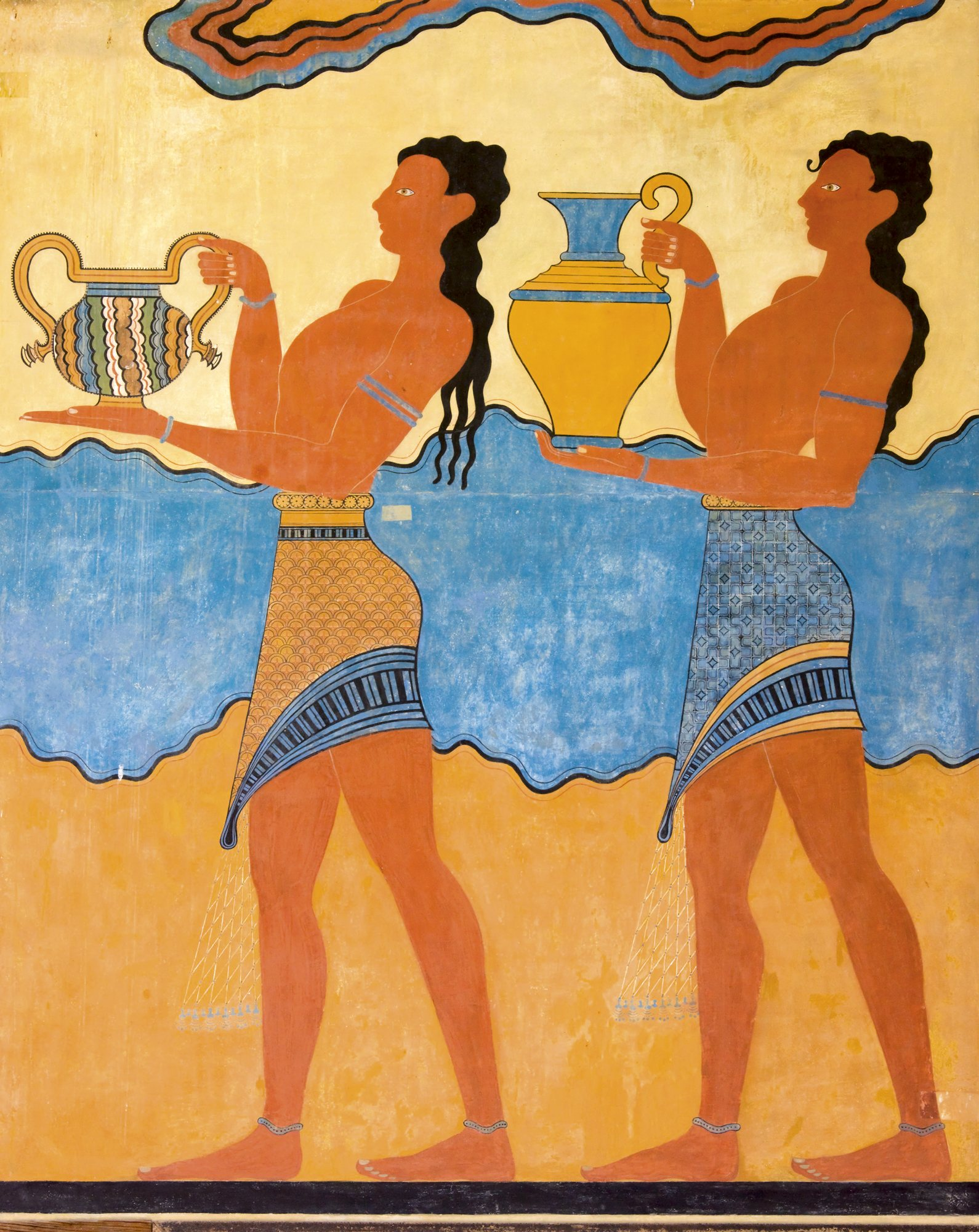 Adolescentes frescos con cuerpos apretados