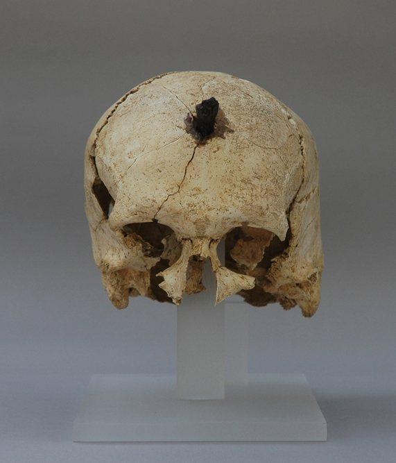 ullastret 571x667 - Exponen las cabezas cortadas del yacimiento íbero de Ullastret