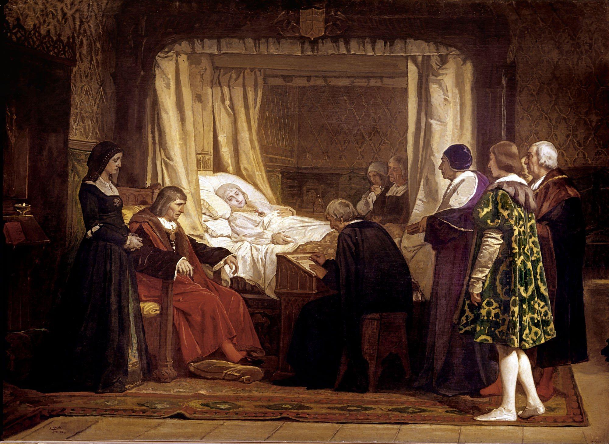 El final de la reina católica