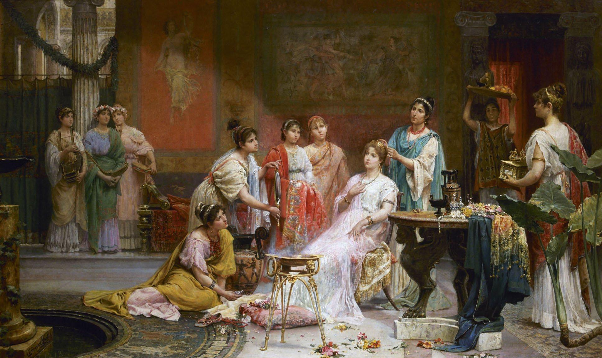 Matrimoni Romani Antichi : El arte del maquillaje en la antigua roma