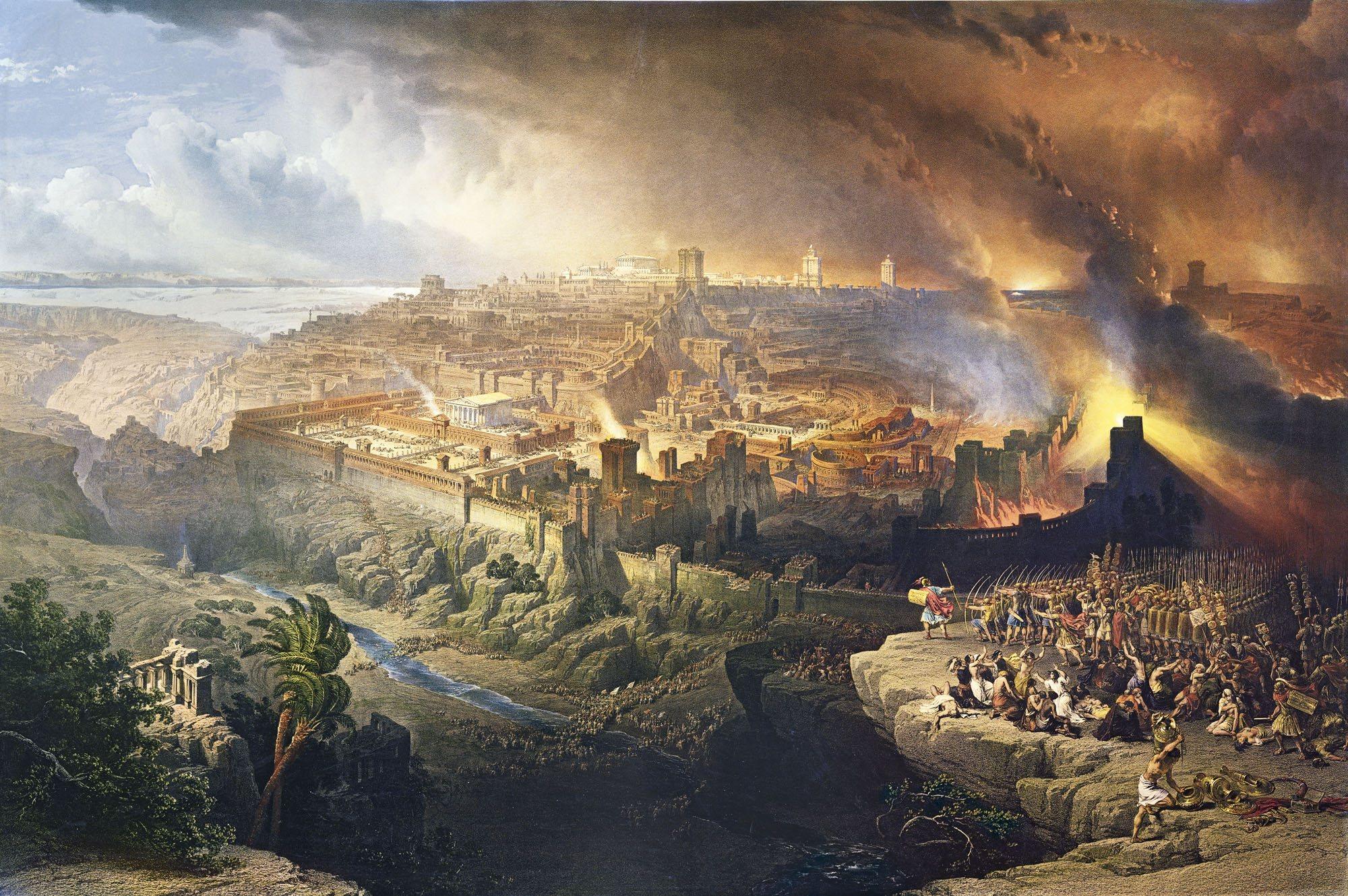 Jerusalén bajo el fuego