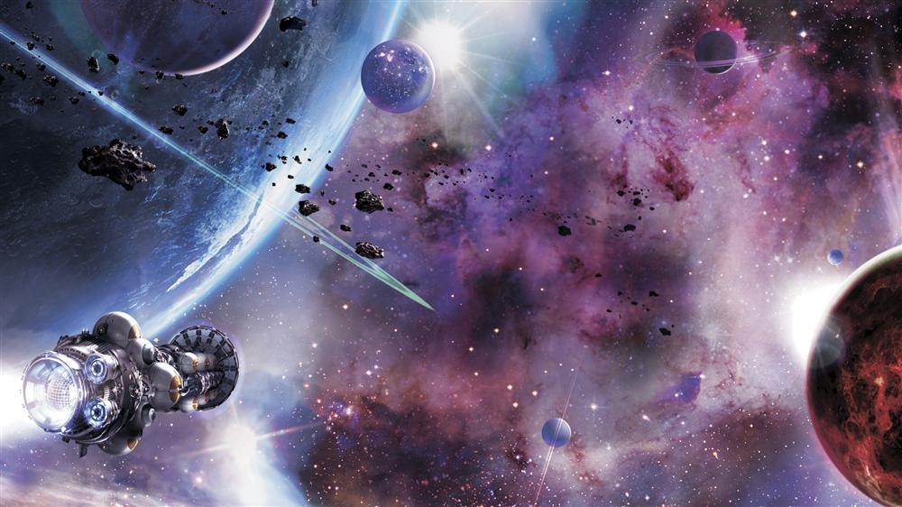 Resultado de imagen de Nave futura propulsada por fusión nuclear