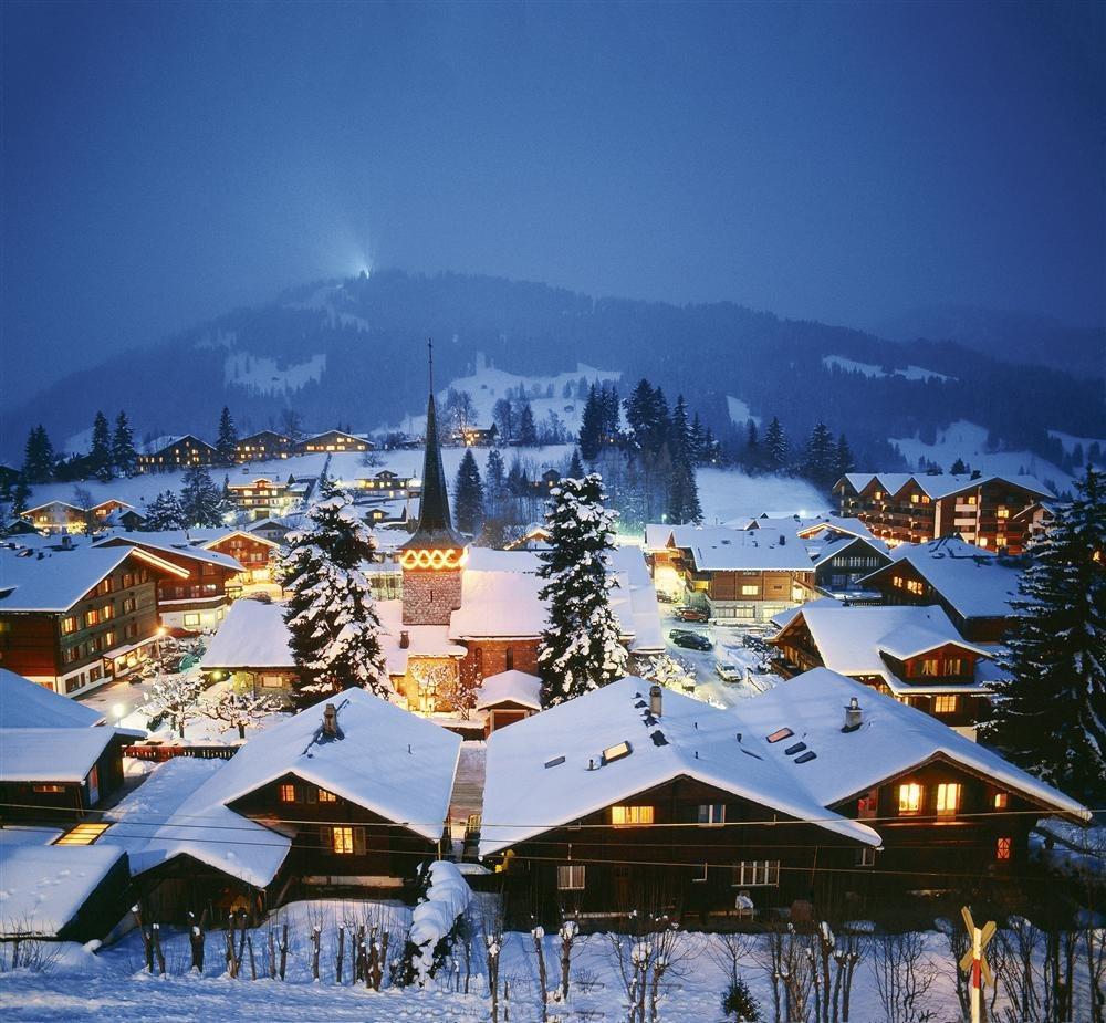 Recorrido por los alpes suizos - Casas en los alpes suizos ...