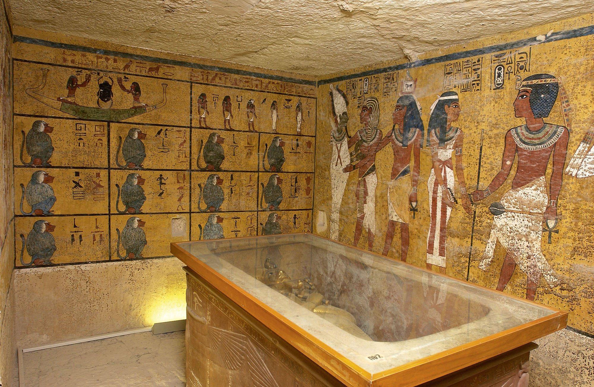 Creada una réplica de la tumba de Tutankhamón