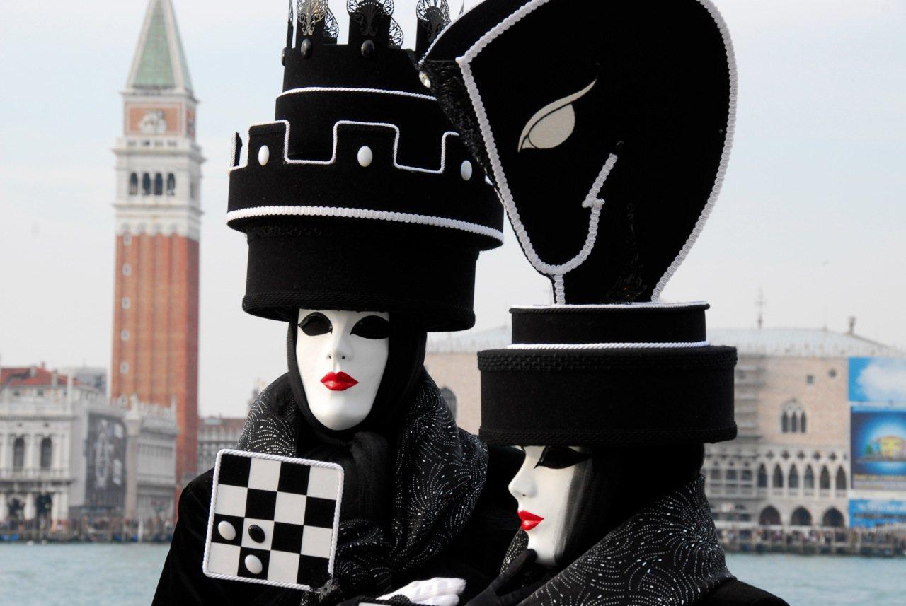 La elegancia del carnaval de Venecia