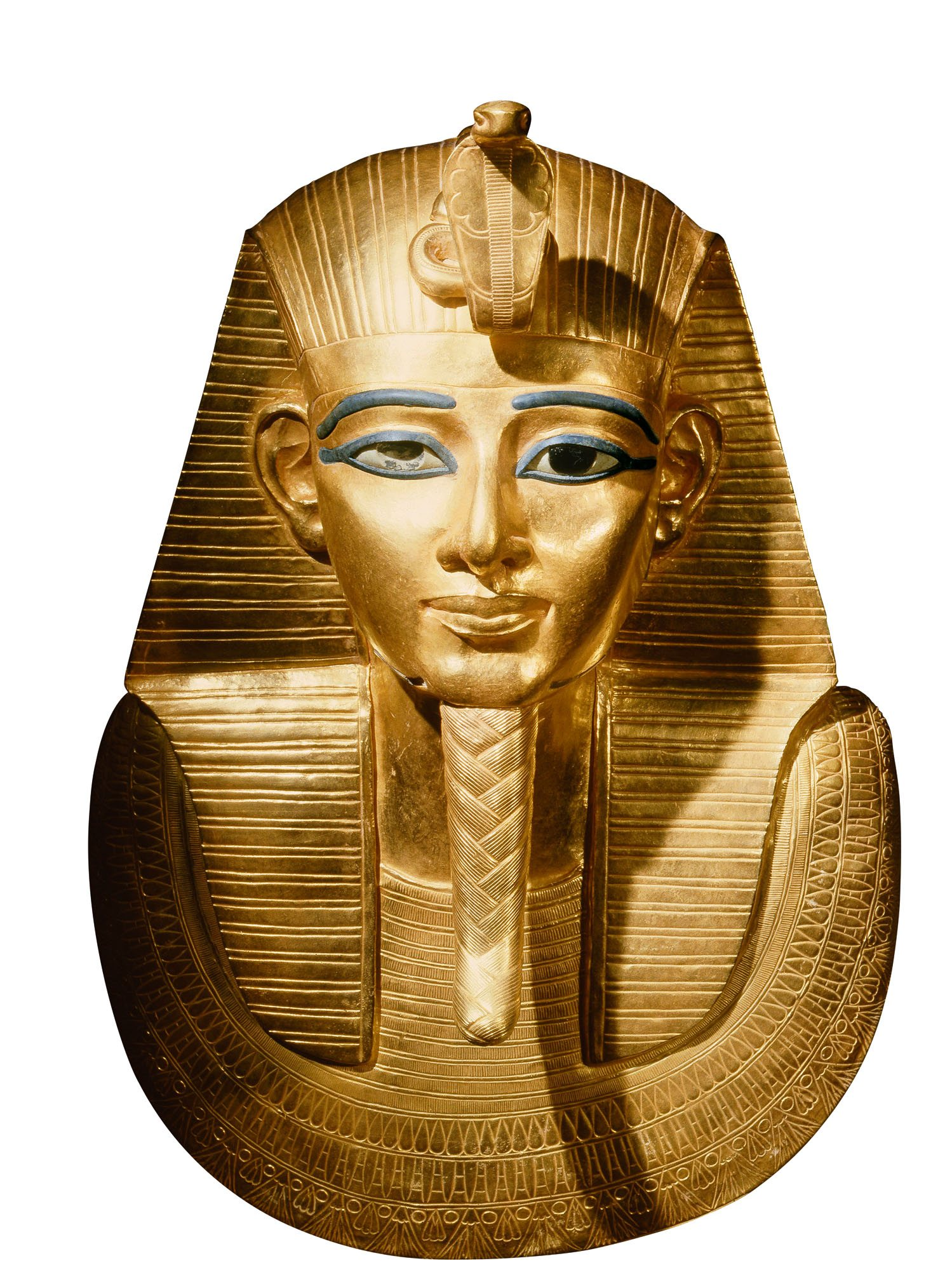 e86fcbcfe9f5 Máscara funeraria de oro
