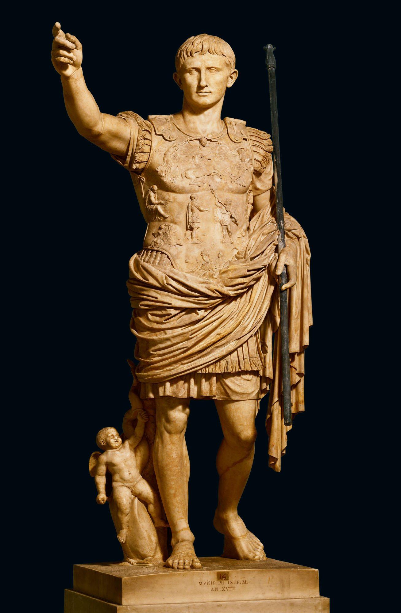 Augusto el gran constructor de roma for Augusto roma