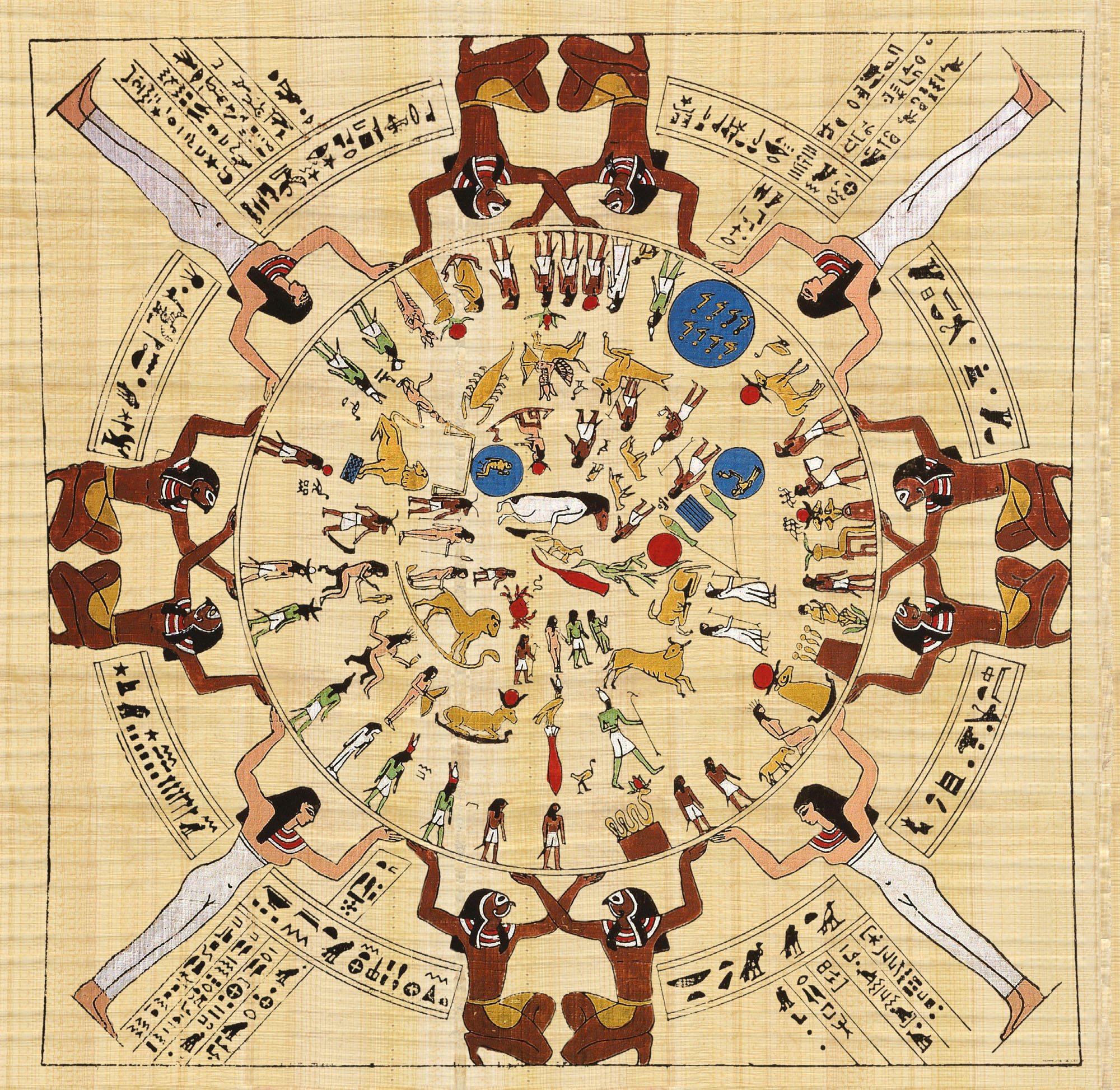 Resultado de imagen de calendario egipcio