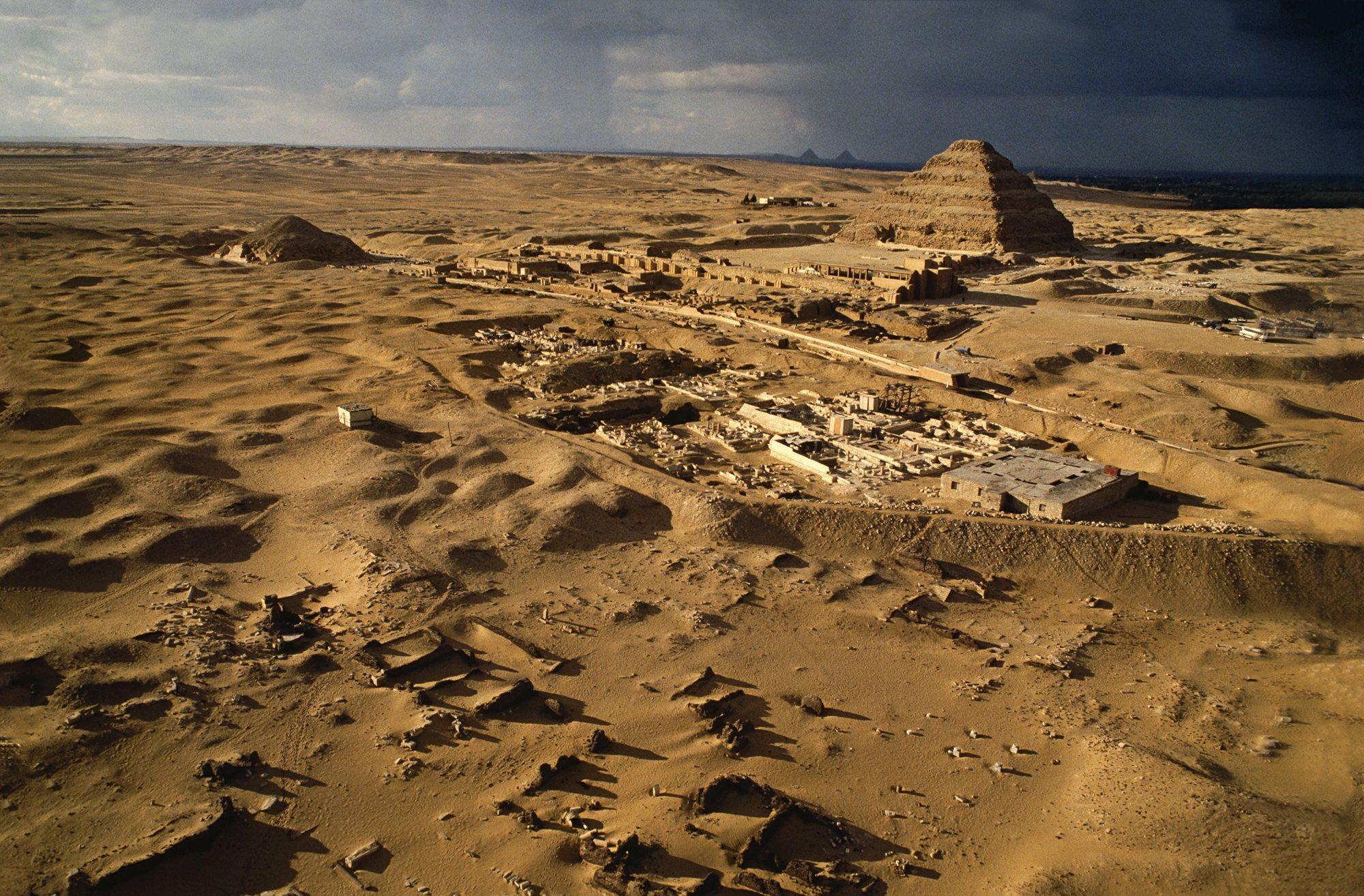 La necrópolis de Saqqara