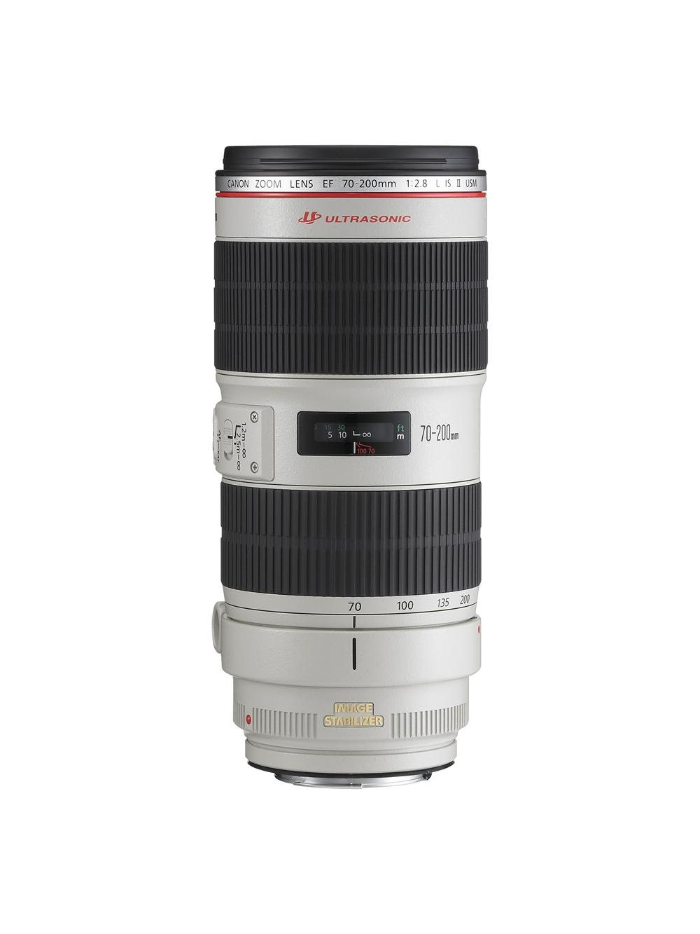 6 ZOOM LENS EF 70-200mm f2.8 L IS II USM FRT. Canon ef 70-200mm f/2,8L IS II USM