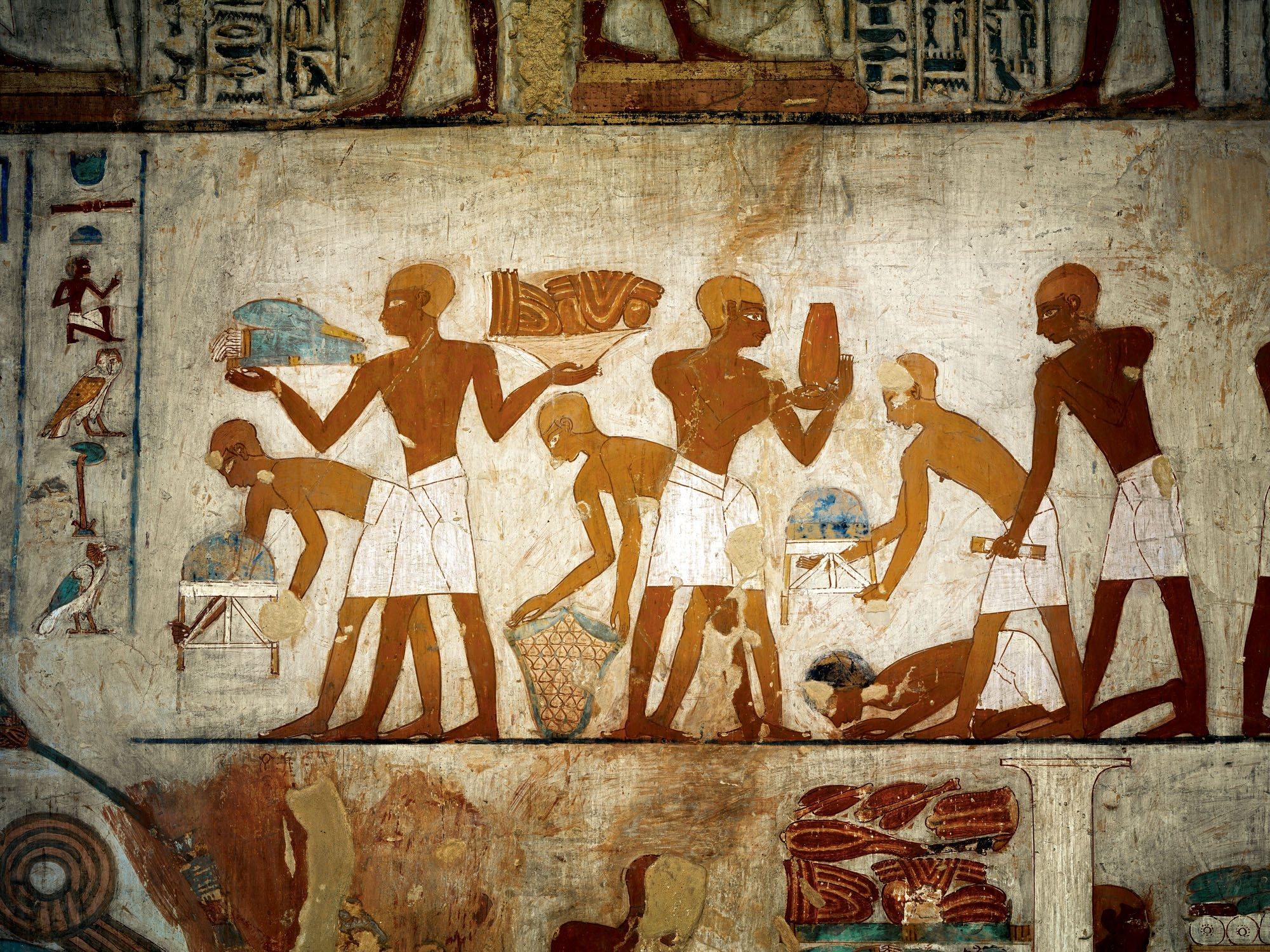El rinc n de egipto el pago de los impuestos en el - El taller de lo antiguo ...