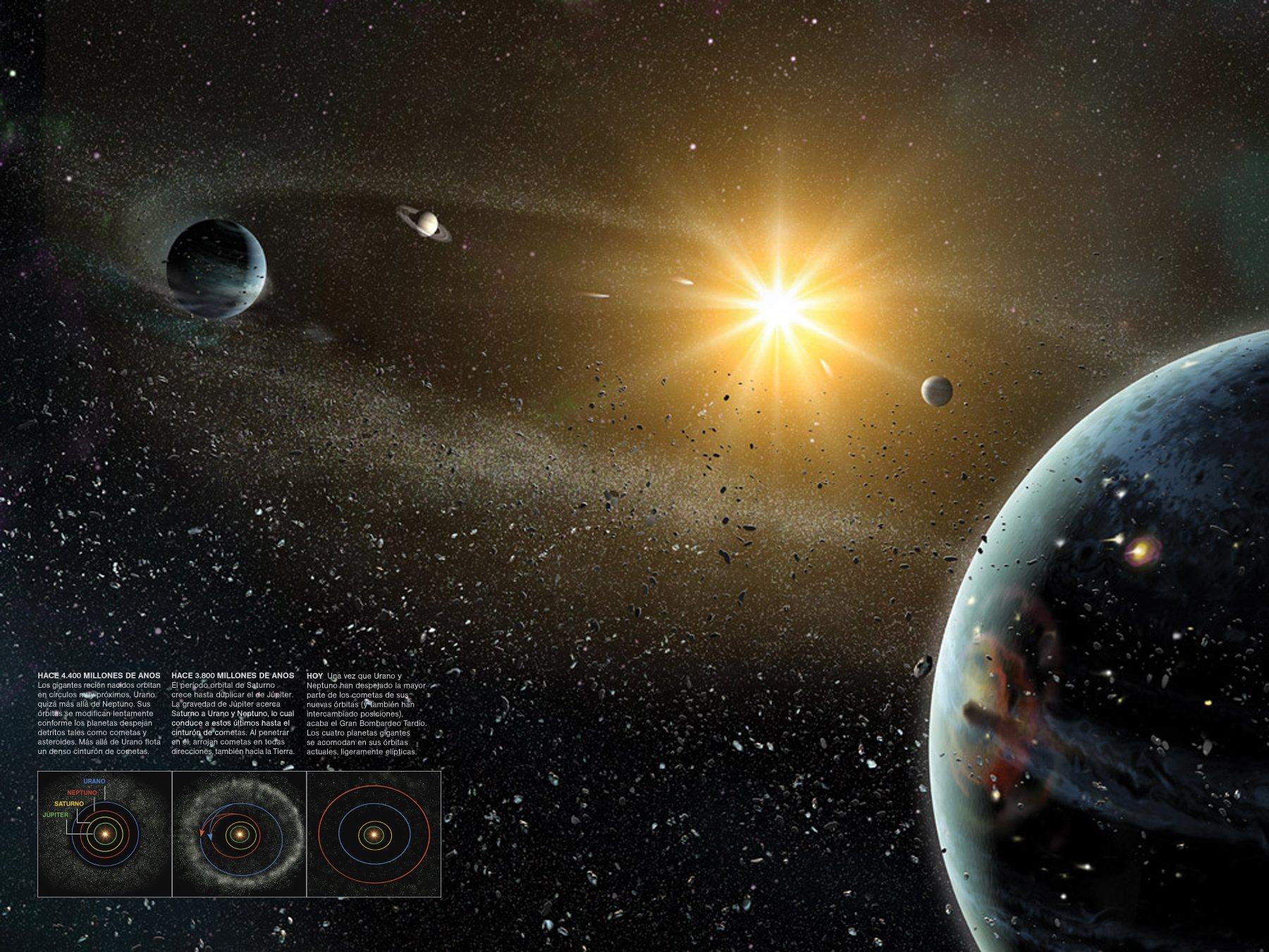 Resultado de imaxes para: sistema solar fotos del national geographic