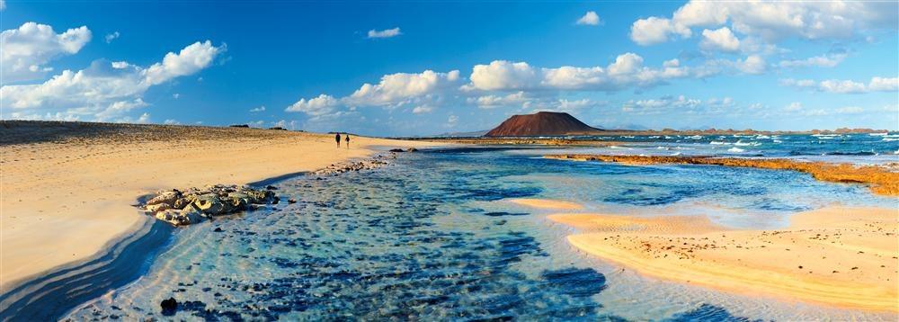 Playa de Corralejo. Fuerteventura.
