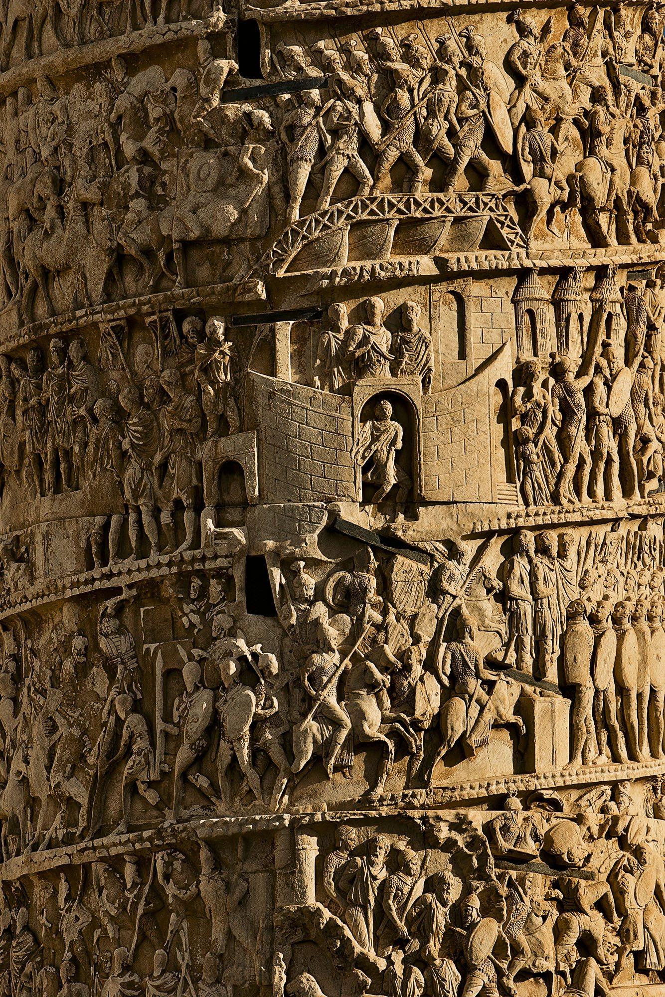Las batallas que el emperador Marco Aurelio libró con los bárbaros ...