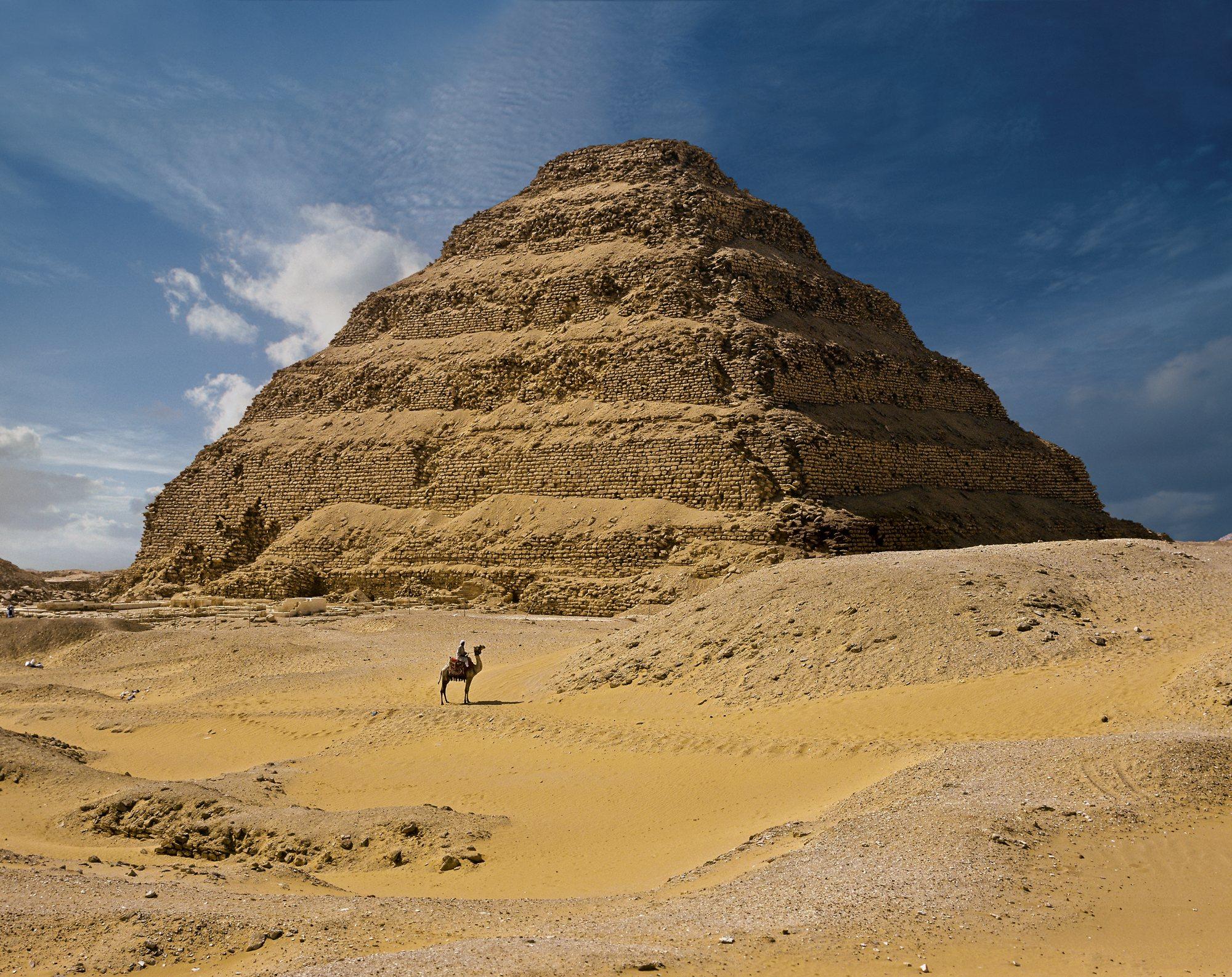 la primera pirámide de la historia