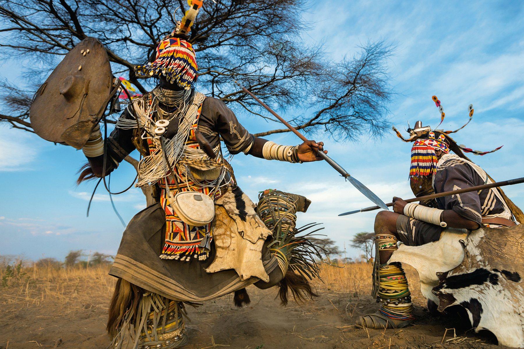 Convivir Con Leones En áfrica