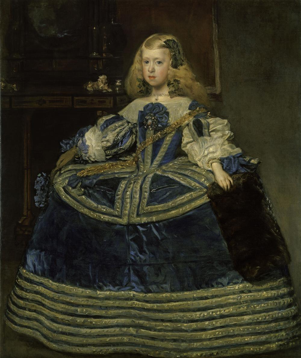 Velázquez retrata a la familia de Felipe IV