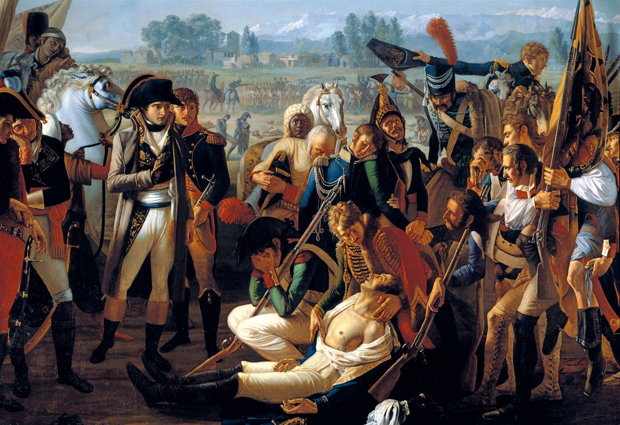 La muerte del general Desaix