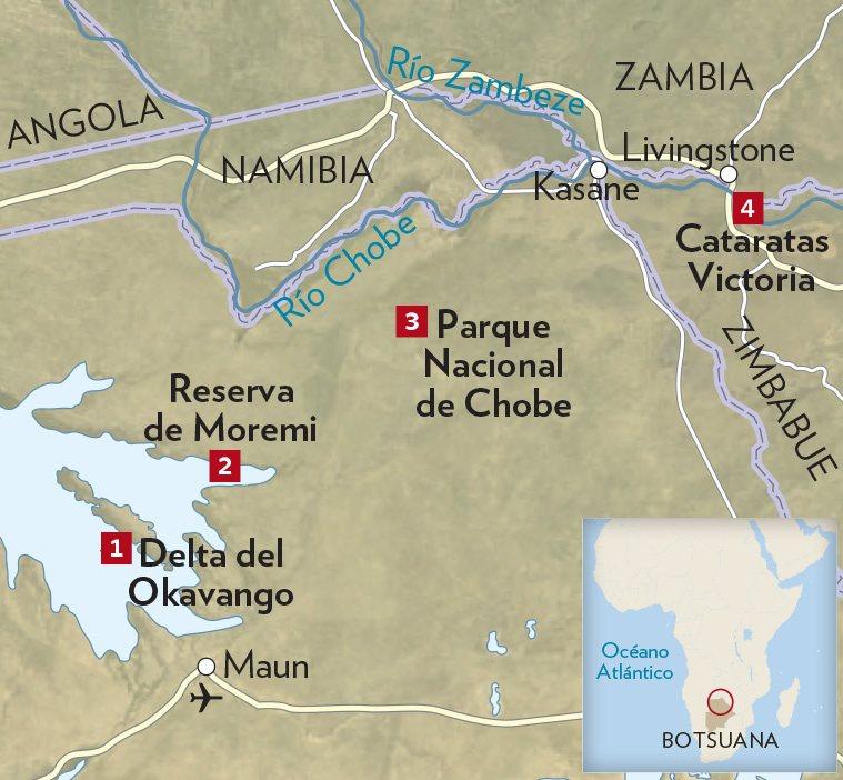 VN 165 VICTORIA-3. Del Okavango a las Victoria