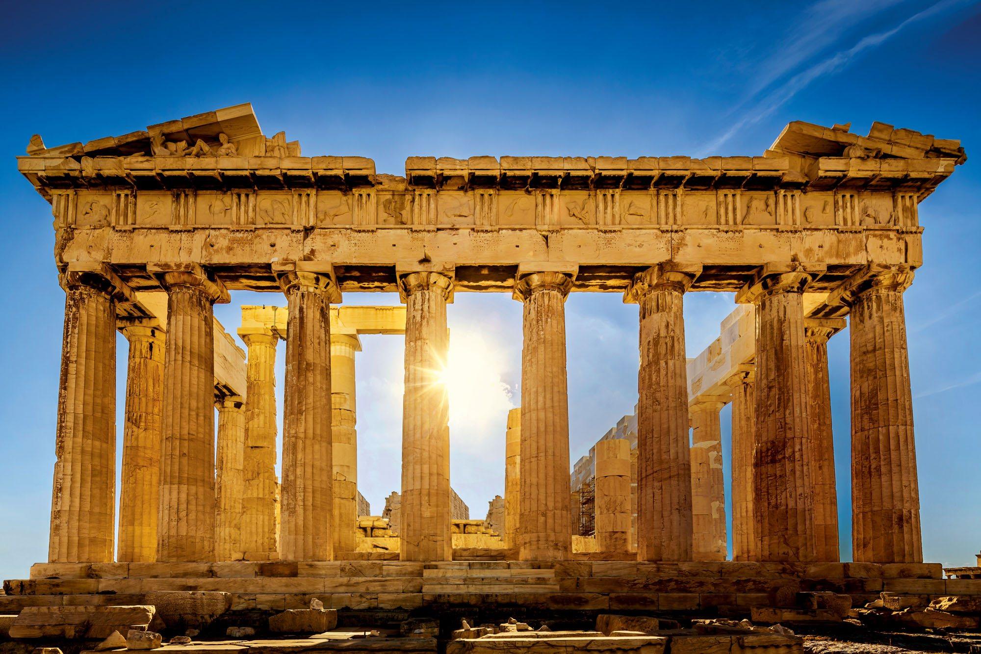 161821621. Fachada este del Partenón