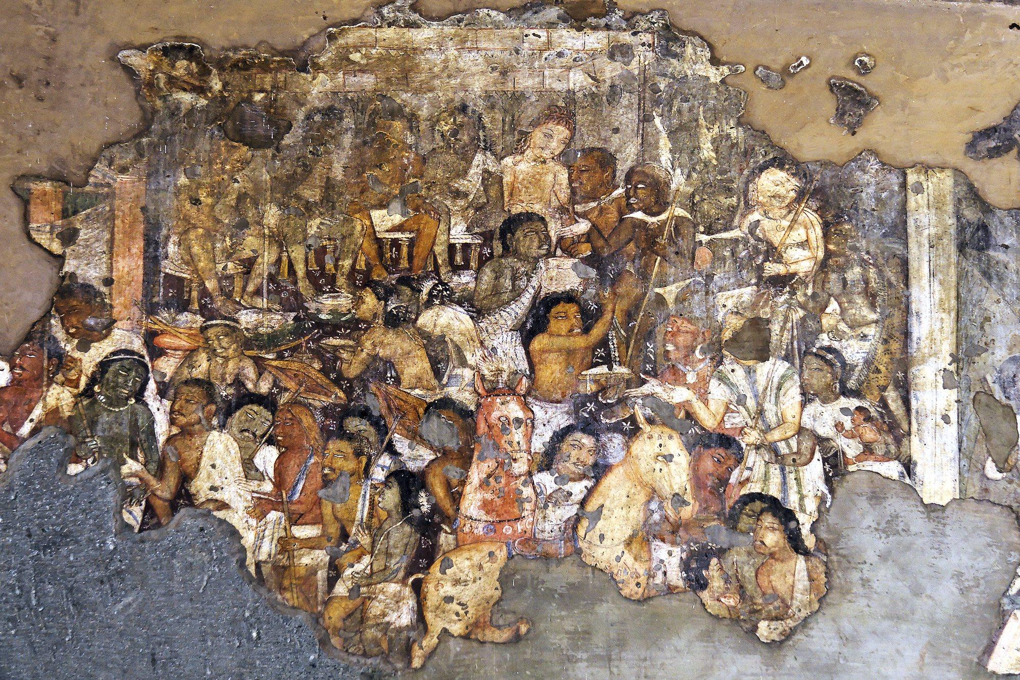 Pinturas en Ellora