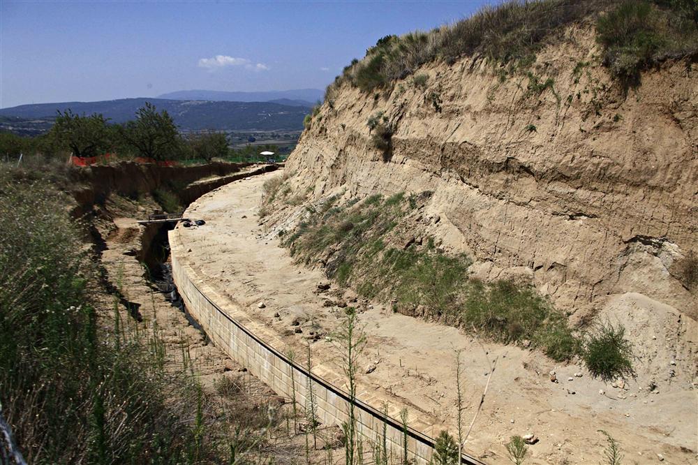 La tumba de Anfípolis podría abrir al público en 2020