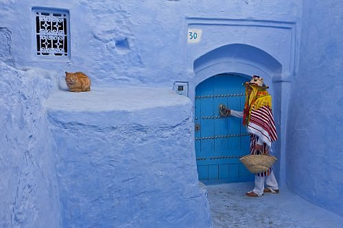 Chaouen, la ciudad añil de Marruecos