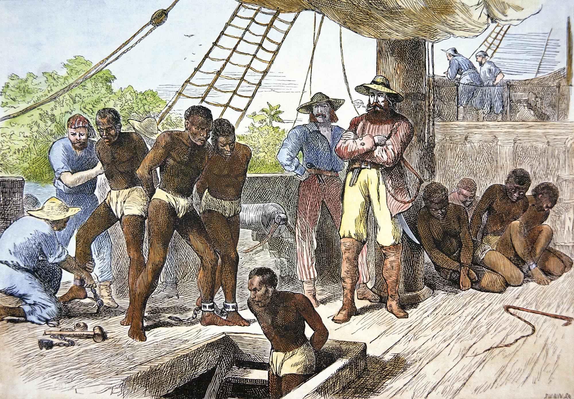 Noche negro esclavitud en Fuenlabrada