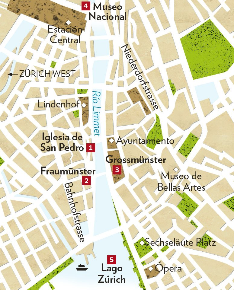 ESC Zurich-4. Cinco enclaves fundamentales