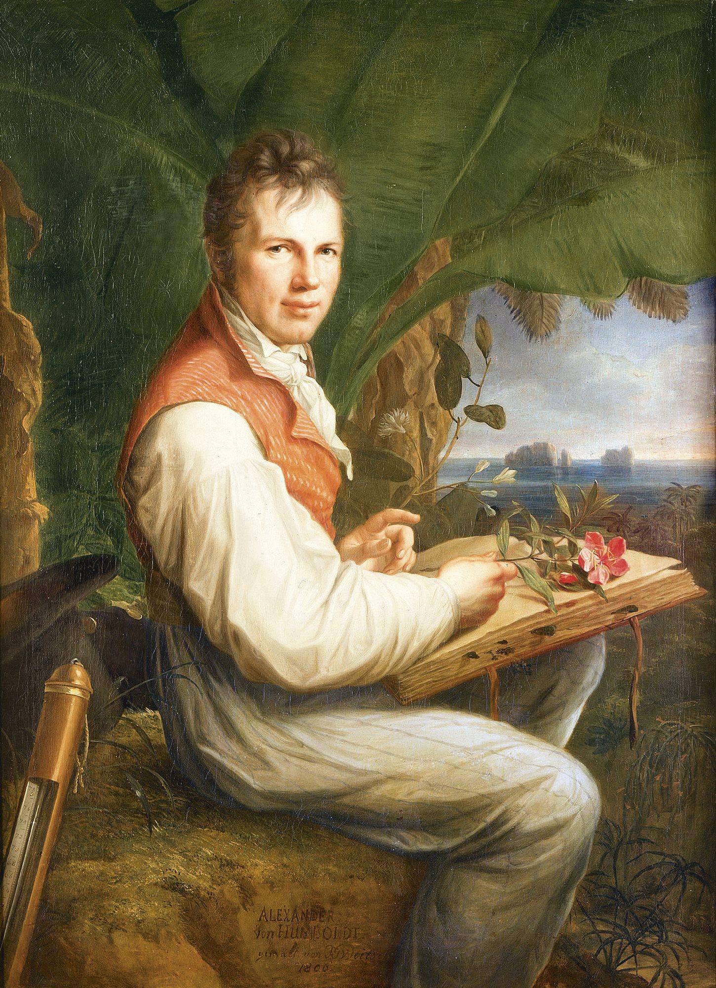 Briefe Alexander Von Humboldt : Humboldt el naturalista que redescubrió américa bio