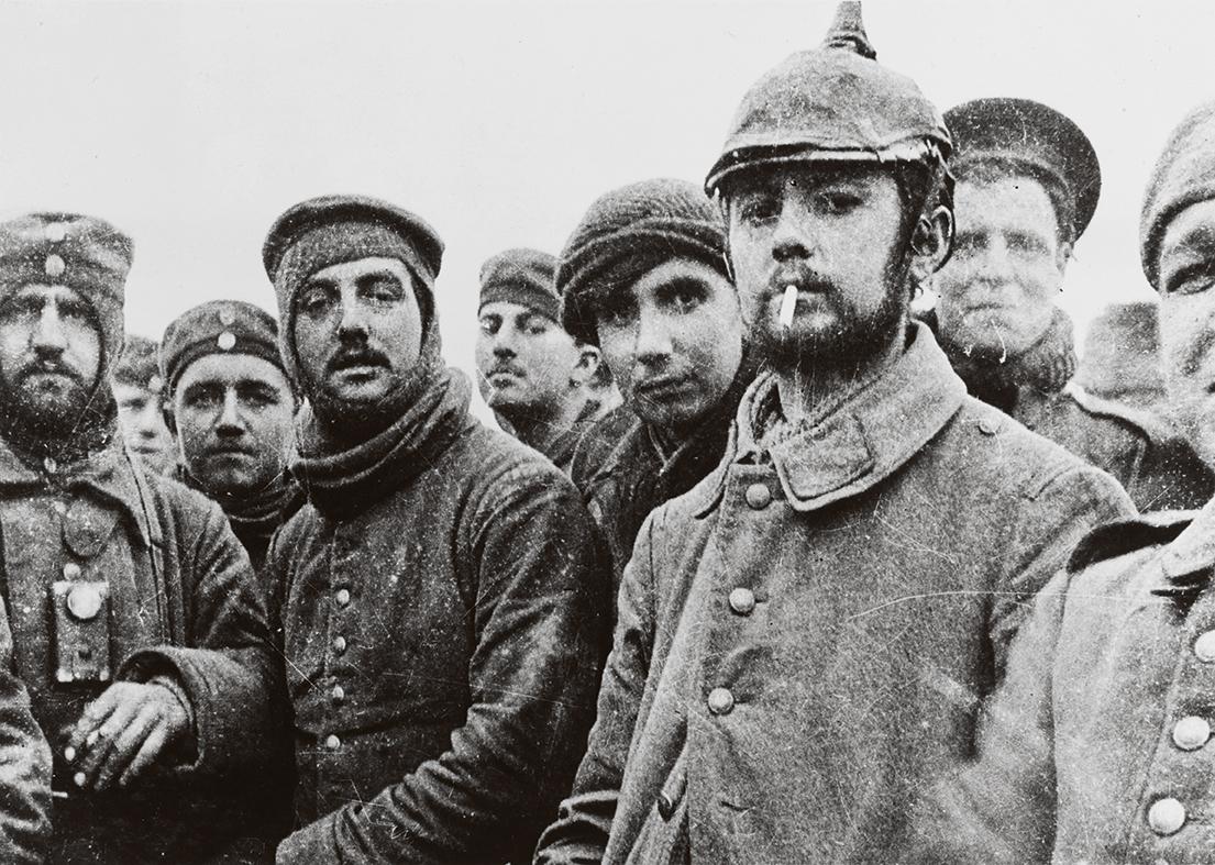 Navidad 1914 soldados