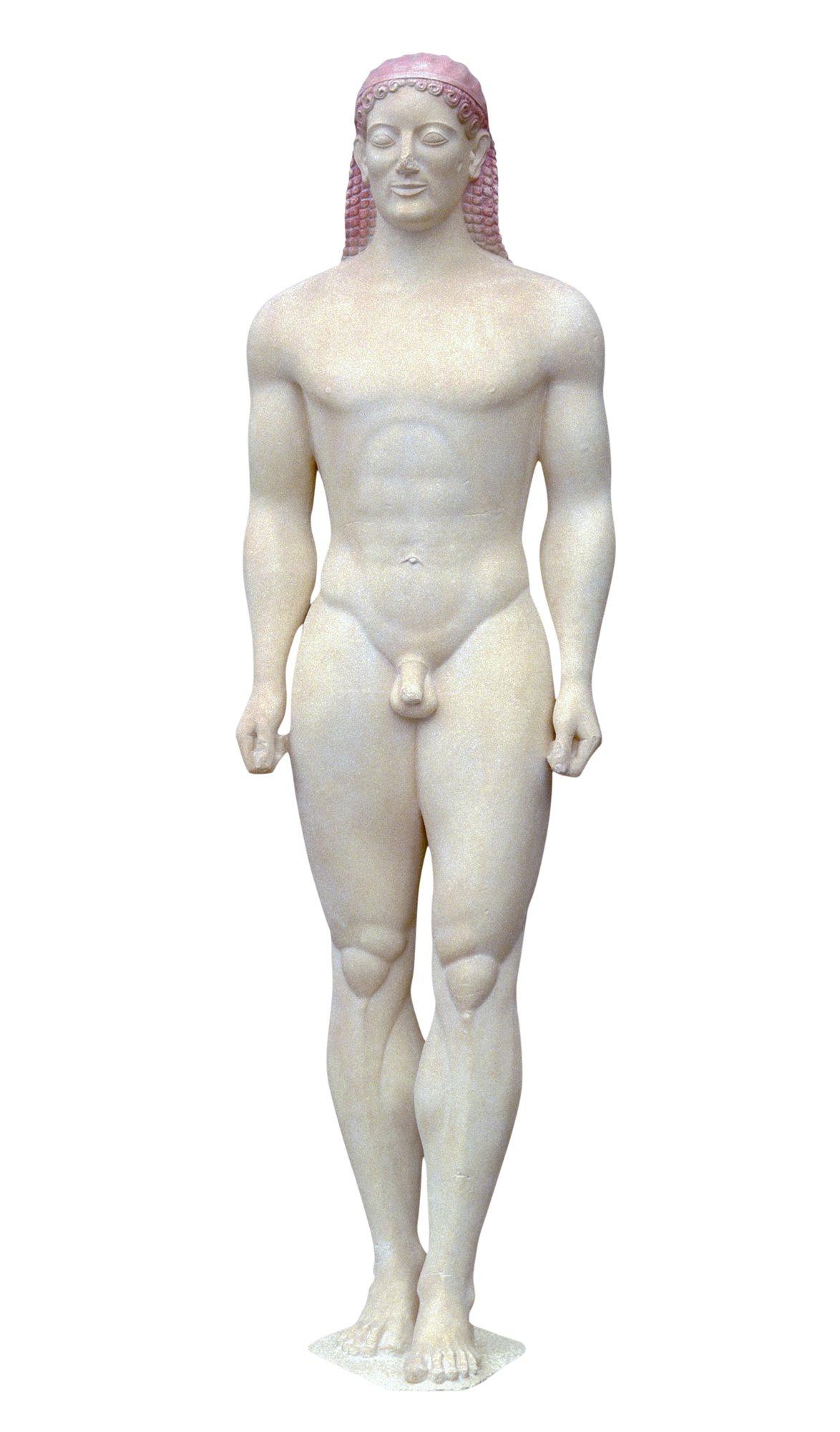 39468a795 133 egipto6. Kouros de Anavysos