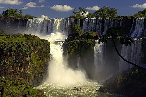Iguazú, Brasil y Argentina
