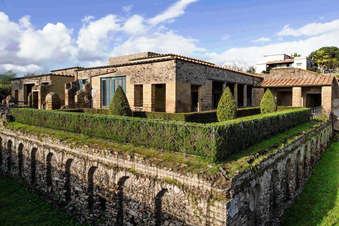 La Villa De Los Misterios Reabre Al P 250 Blico