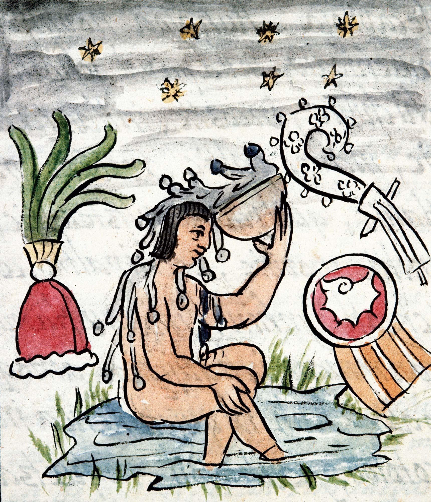 136 Aztecas 1. El baño diario